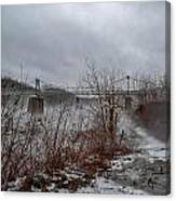 Lumberville Bridge Bucks County Canvas Print