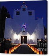 Luminarias At St Francis De Paula Canvas Print