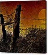 Luna De Sangre Canvas Print