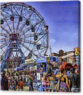 Luna Park 2013 - Coney Island - Brooklyn - New York Canvas Print