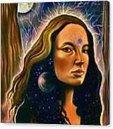Lunar Embodiment Canvas Print