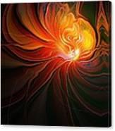 Lunar Lotus Canvas Print