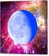 Lunar Magic Canvas Print