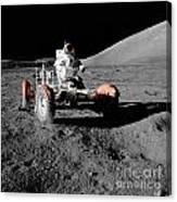 Lunar Ride Canvas Print