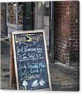Lunch Specials Canvas Print