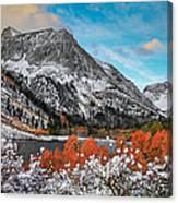 Lundy Lake Sunrise Canvas Print