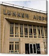 Lunken Airport In Cincinnati Ohio Canvas Print