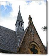 Luss Church Steeple Canvas Print