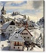 Lussari Canvas Print