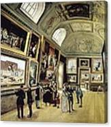 Luxembourg Palace. One Of Its Halls Canvas Print
