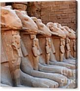 Luxor Temple 3 Canvas Print