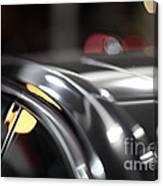 Luxury Black Car Blur Bokeh Canvas Print