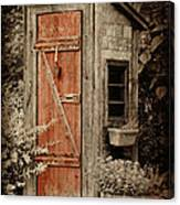 Luxury Outhouse Canvas Print