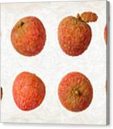 Lychee Canvas Print