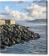 Lyme Regis - View Towards Charmouth Canvas Print