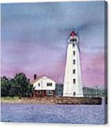 Lynde Point Lighthouse Canvas Print