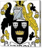 Lyndon Coat Of Arms Irish Canvas Print
