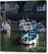 Lynmouth Harbour Devon Canvas Print