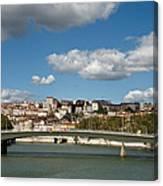 Lyon View Canvas Print