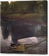 Lyons Falls  - Moose River Canvas Print