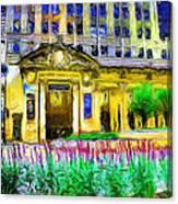 Lyric Opera House Of Chicago Canvas Print