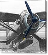 Lysander In Readiness Canvas Print