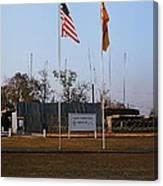 Lz Oasis 3d Brigade None Better Headquarters 4th Infantry Division Vietnam  1969 Canvas Print