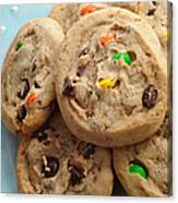 M And M - Chocolate Chip - Cookies - Bakery Shop Canvas Print