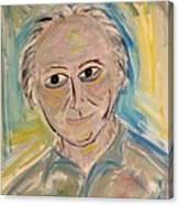M. Portrait  Canvas Print
