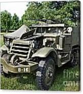 M3 Half-track Canvas Print