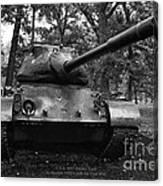 M47 Patton Tank Canvas Print