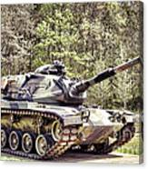 M60 Patton Tank Canvas Print