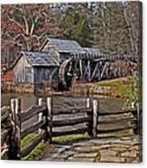Mabry Mill 2 Canvas Print