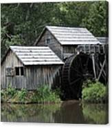 Mabry Mill - Blue Ridge Mountains Canvas Print