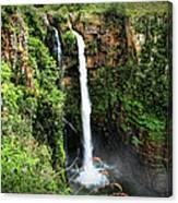 Mac Mac Waterfall In South Africa Canvas Print
