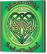 Macaleese Soul Of Ireland Canvas Print