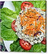 Macaroni Salad 1 Canvas Print