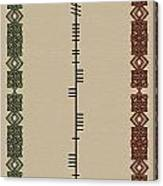 Macateer Written In Ogham Canvas Print