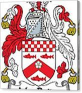 Macbride Coat Of Arms Irish Canvas Print