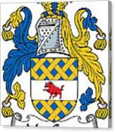 Maccann Coat Of Arms Irish Canvas Print