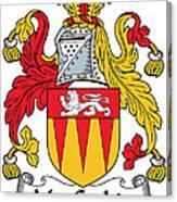 Maccashin Coat Of Arms Irish Canvas Print