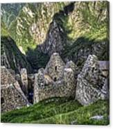 Macchu Picchu - Peru - South America Canvas Print