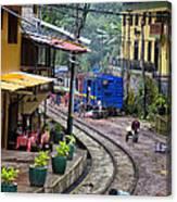 Macchu Picchu Town - Peru Canvas Print
