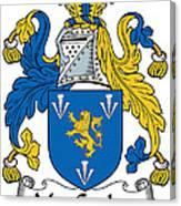 Maccoglan Coat Of Arms Irish Canvas Print