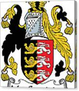 Macconsidine Coat Of Arms Irish Canvas Print