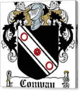 Macconway Coat Of Arms Irish Canvas Print