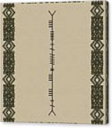 Maccormack Written In Ogham Canvas Print