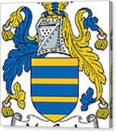 Maccoyle Coat Of Arms Irish Canvas Print