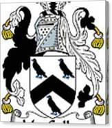 Maccullen Coat Of Arms Irish Canvas Print
