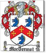 Macdermot Coat Of Arms Irish Canvas Print